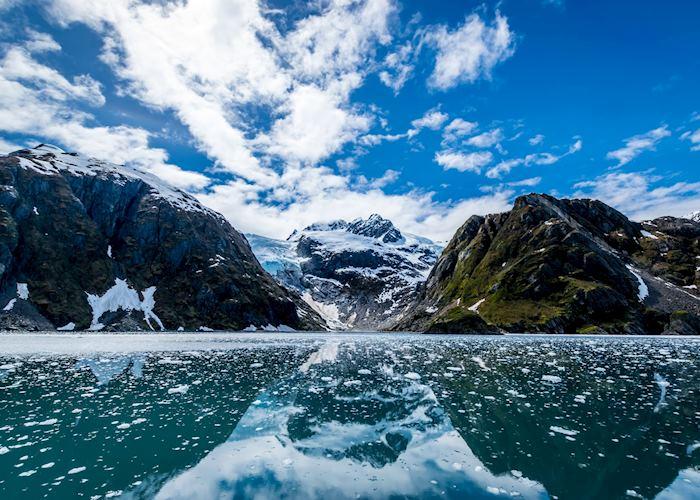 Views around Kenai Fjords National Park, near Seward, Alaska