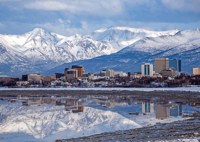 Views of Anchorage,Alaska