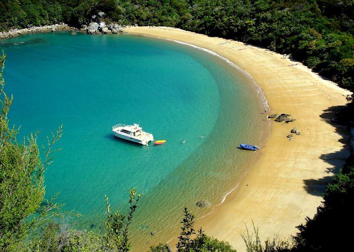 Boat Cruise to Te Puketea Bay