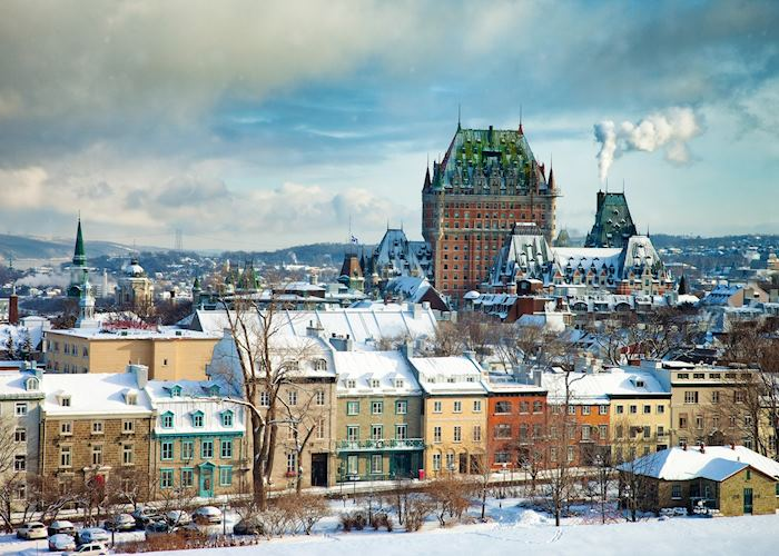 Québec City skyline