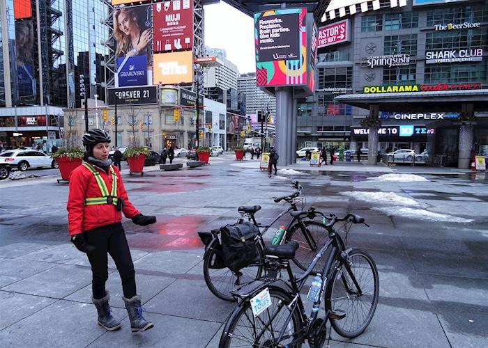 Heart of Downtown Toronto Bicycle Tour, Toronto
