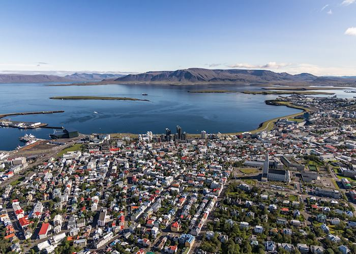 Small group helicopter tour — Heli Happy Hour, Reykjavik