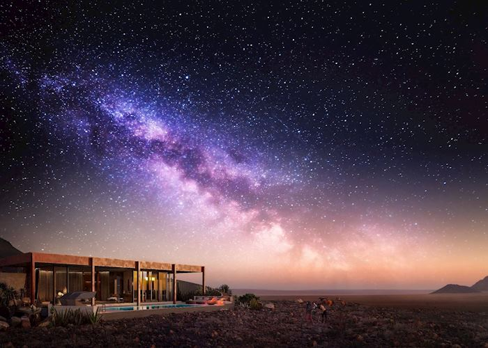 Night sky at Sossusvlei Desert Lodge