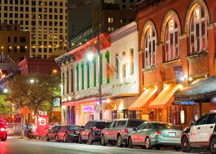 Sixth Street Entertainment District in Austin Texas
