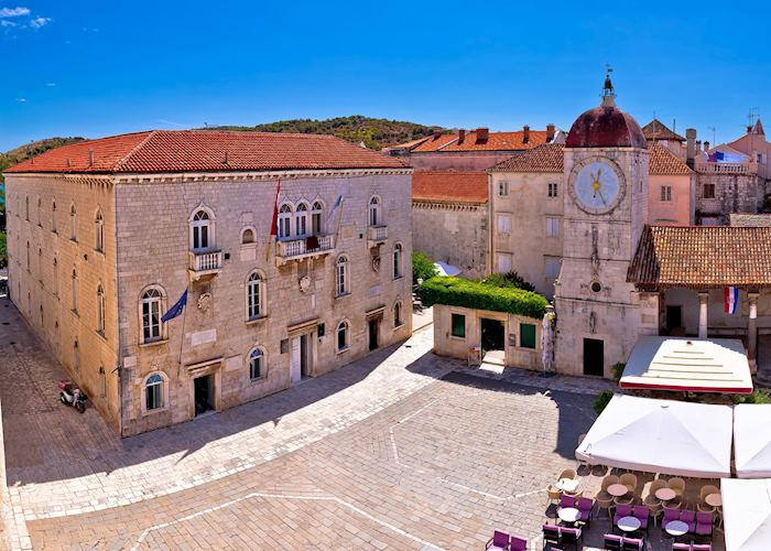 Central Square, Trogir