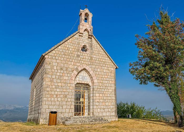 Stone church, Sinj