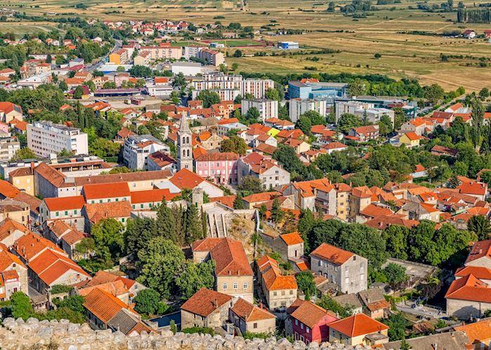 Town of Sinj, Croatia