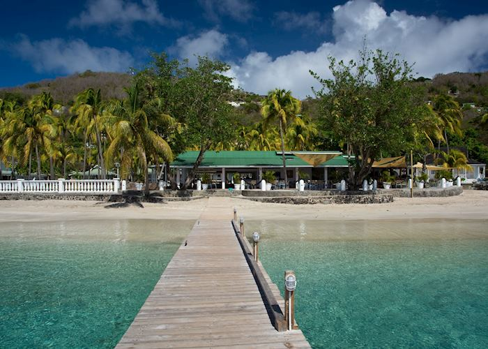 Beach at Bequia Plantation Hotel, Bequia