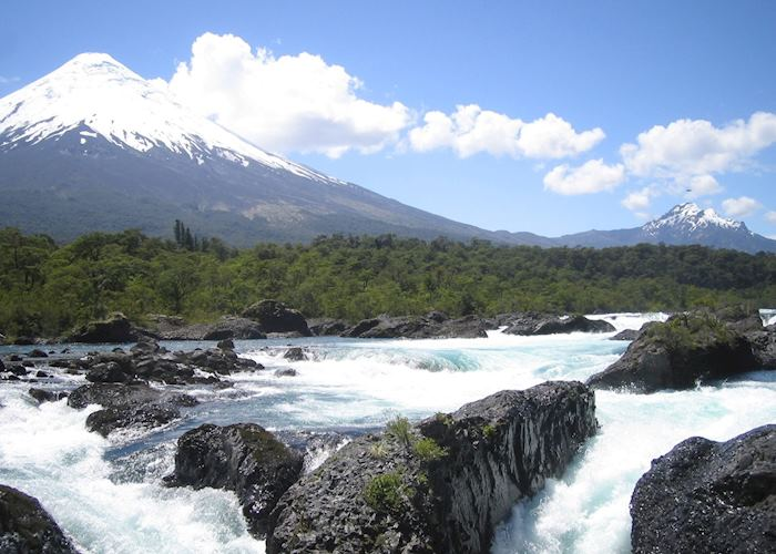 Petrohue and the Osorno Volcano, near Puerto Varas