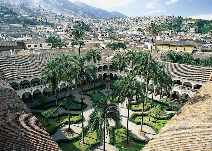 Colonial Courtyard, Quito