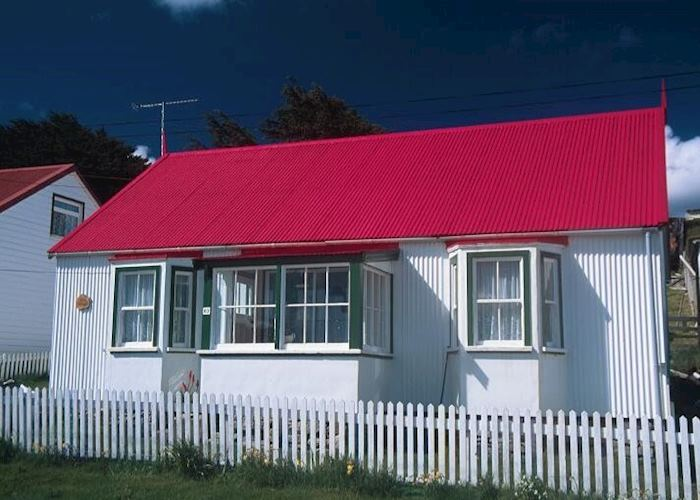 A typical house in Stanley, The Falkland Islands