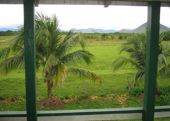 View from the veranda, Dadanawa Ranch, Dadanawa