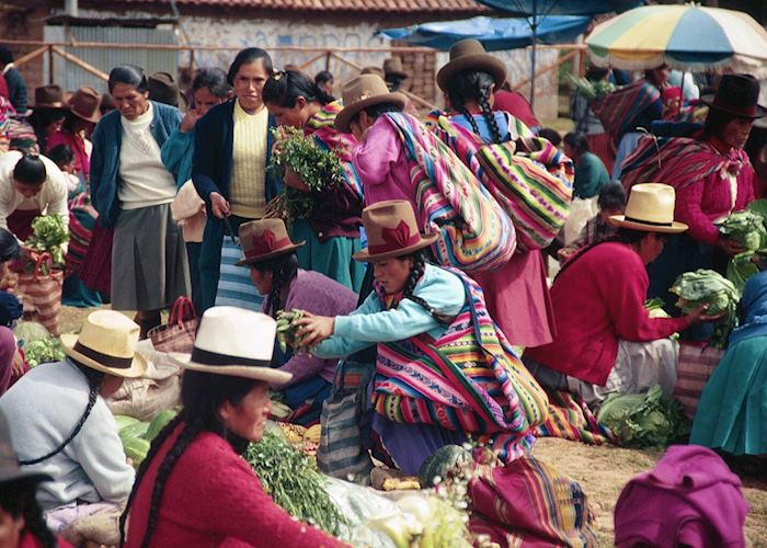 Chinchero market, Sacred Valley of the Incas