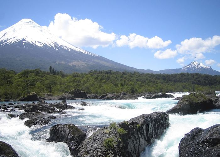 The Osorno Volcano, near Puerto Varas