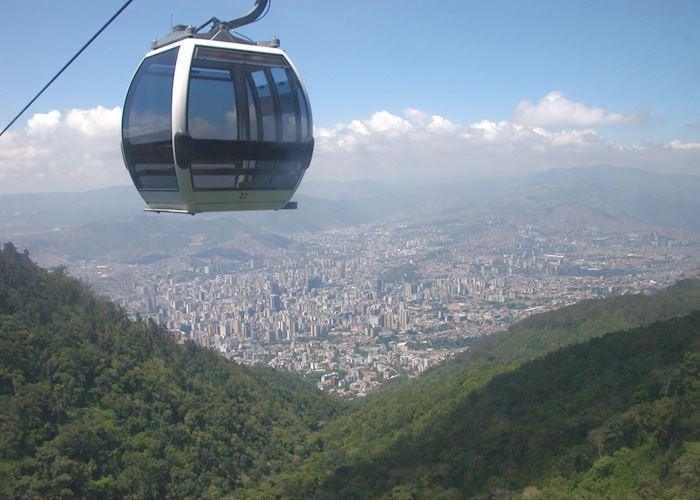 View from Avila Mountain Cable Car, Caracas