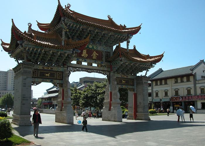 City gate, Kunming