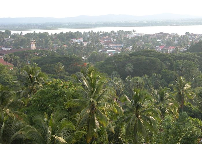 View of Mawlamyine from Kipling's Pagoda (Kyaikthanlan Paya)