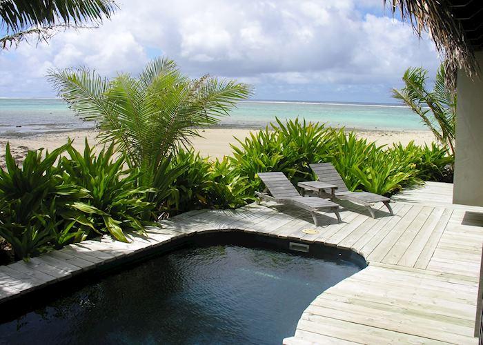 Beach front villa, Sea Change, Rarotonga