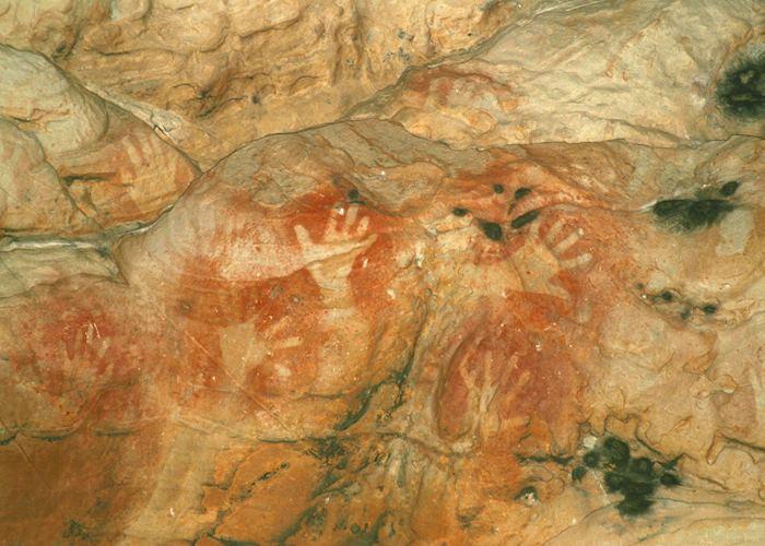 Rock Art at Glenisla, The Grampians National Park, Australia