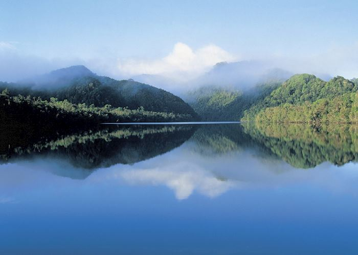 Misty Lake, Franklin-Gordon National Park, Tasmania