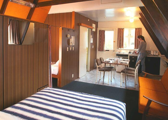 Motel family unit, The Hermitage Motel, Mount Cook Village