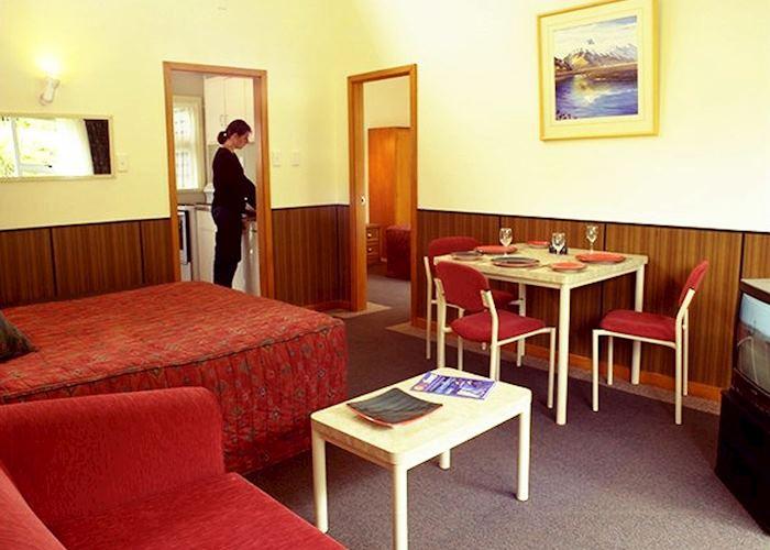 Motel studio, The Hermitage Motel, Mount Cook Village