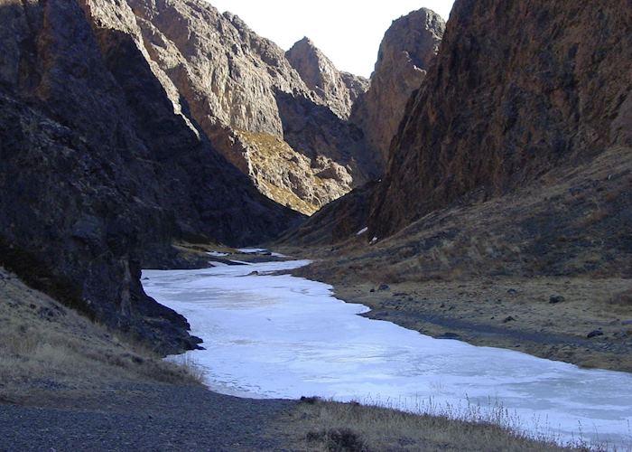 Eagle Canyon, Gobi Desert