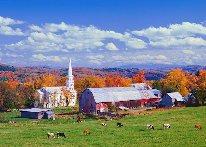 Barns in Vermont