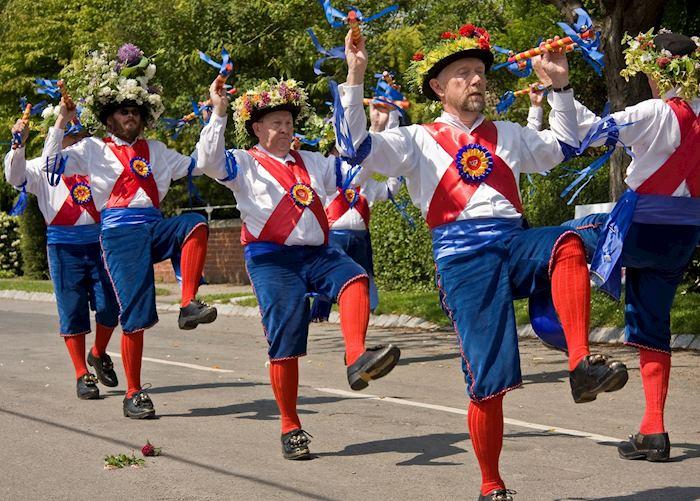 Morris dancers in Yorkshire