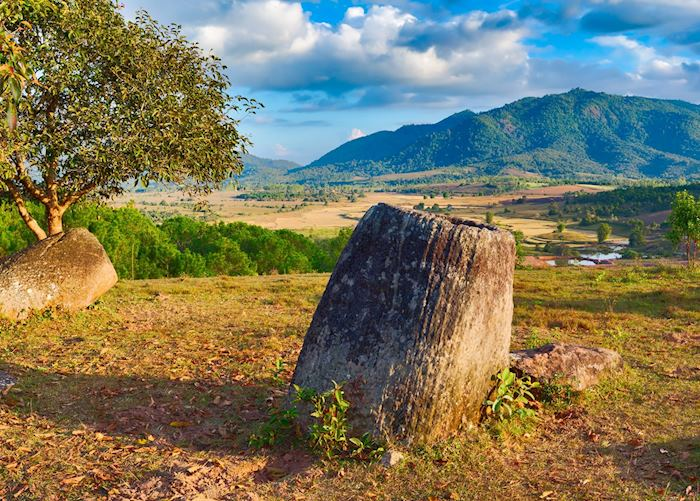 Plain of Jars near Phonsovan