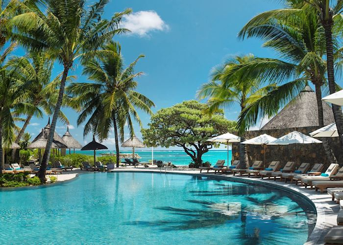 Pool, Constance Belle Mare Plage, Mauritius