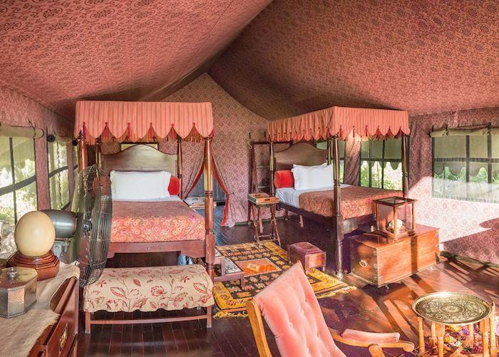 Jack's Camp bedroom