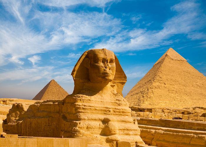 Giza pyramids and Sphinx, Cairo