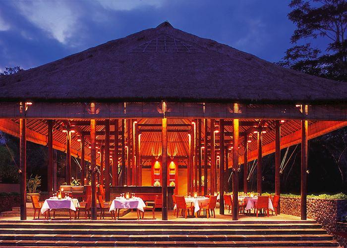 Plantation restaurant, Alila Ubud, Ubud