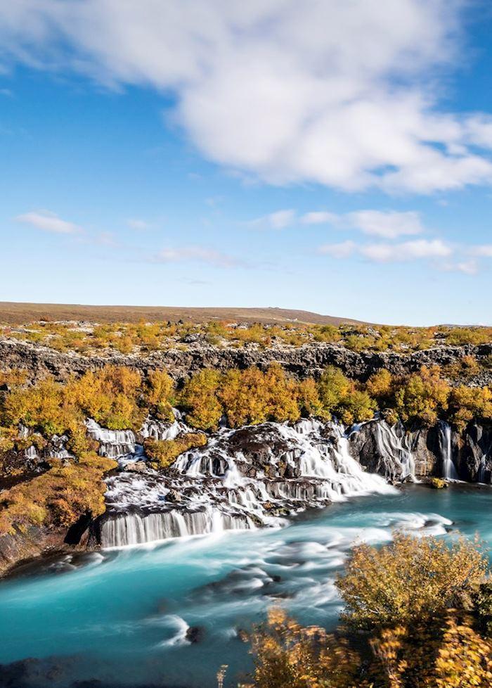 Hraunfossar, West Iceland