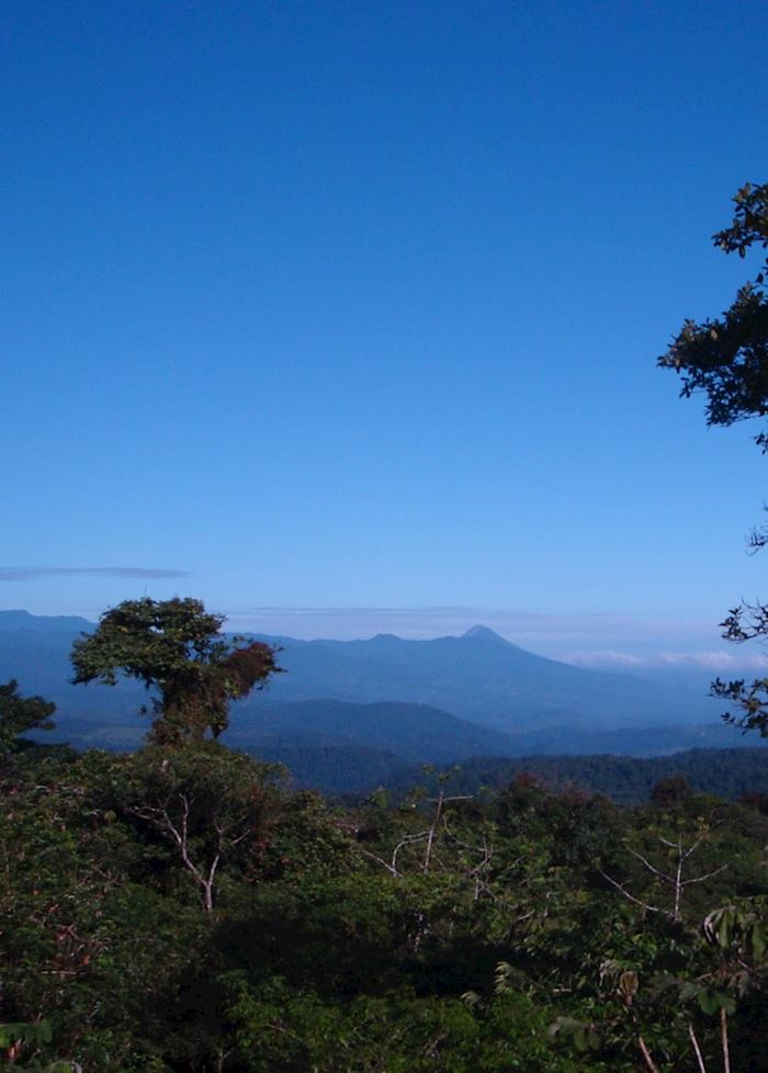 View of Arenal from San Ramon, Costa Rica