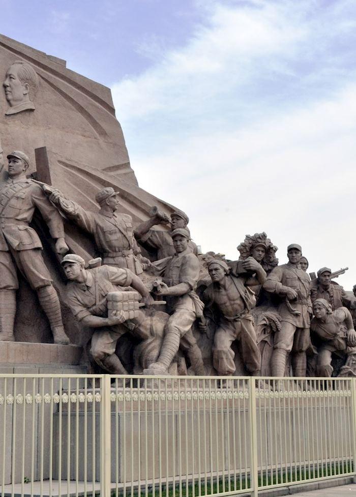 Tiananmen Square Statue