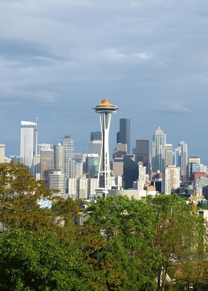 A view of downtown Seattle from Kerry's Park