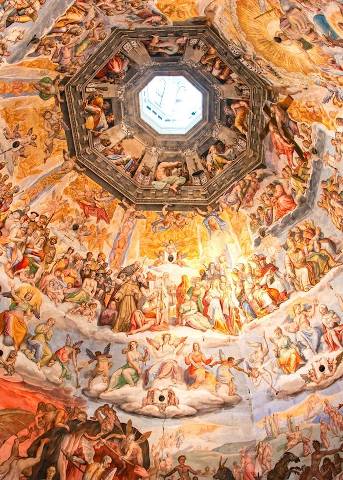 Interior of Florence Duomo