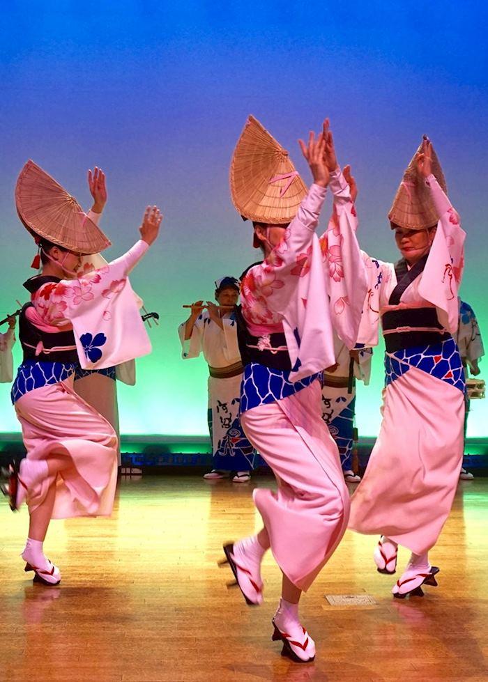 Awa Odori Dance Performance
