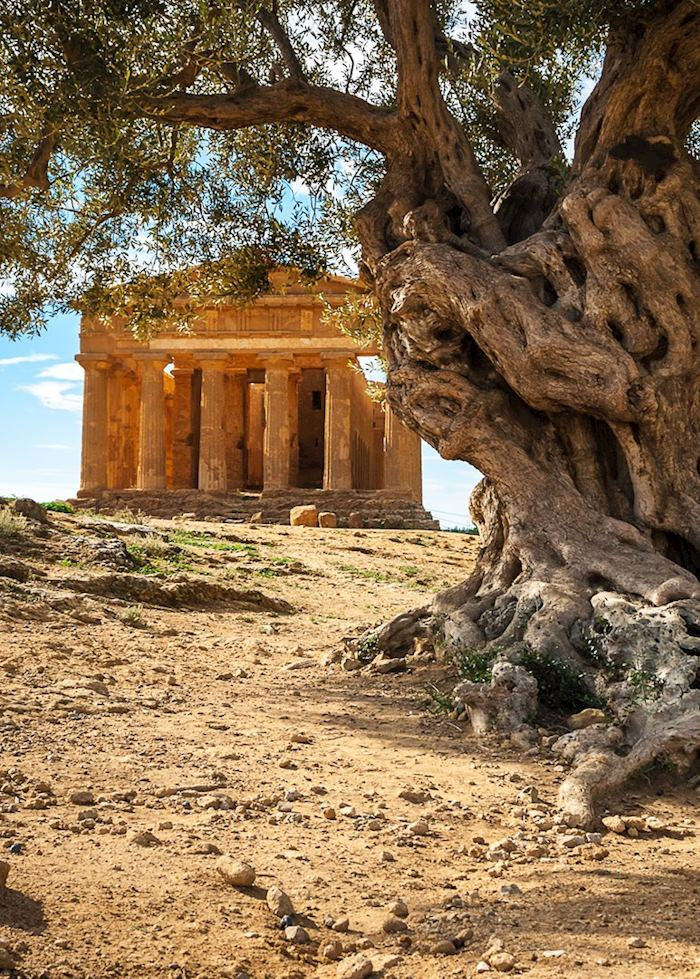 Greek temple, Agrigento
