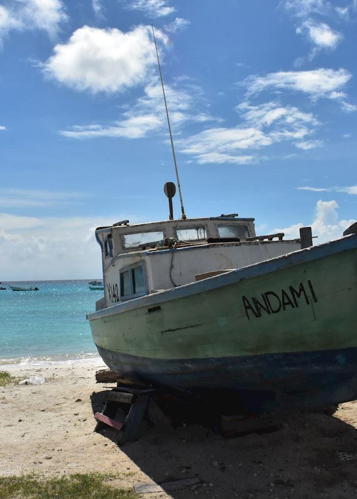 Local fishing boat, Barbados