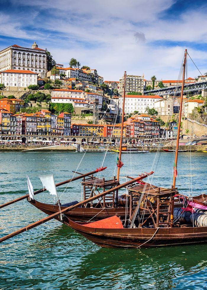 Traditional Rabelo boat, Porto