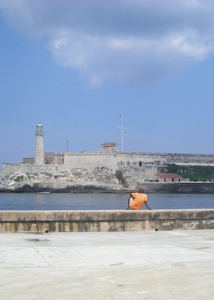 View across the harbour to El Morro, Havana