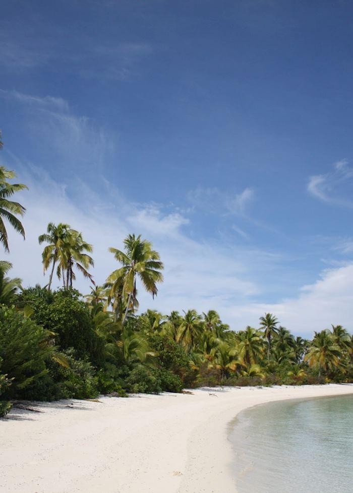 One Foot Island, Aitutaki, The Cook Islands