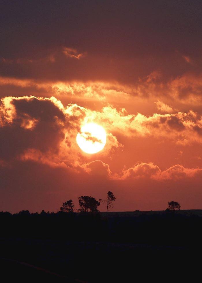 Sunset over the Nyika Plateau, Malawi