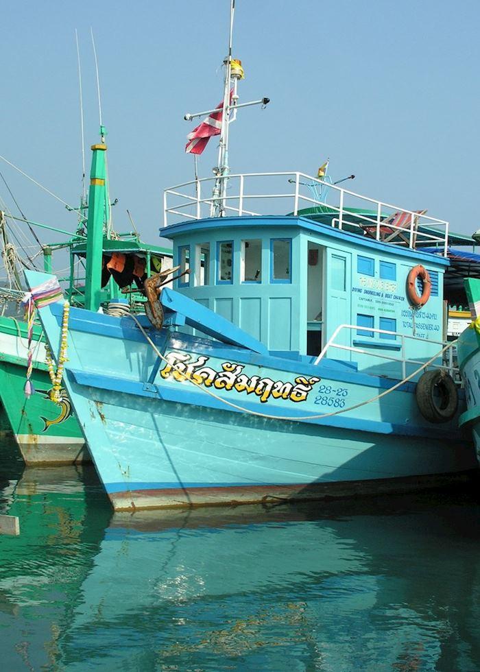 Fishing boats, Koh Chang, Thailand