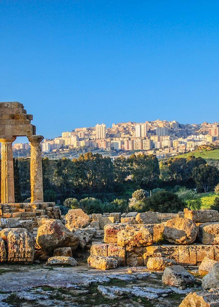 Greek ruins, Agrigento