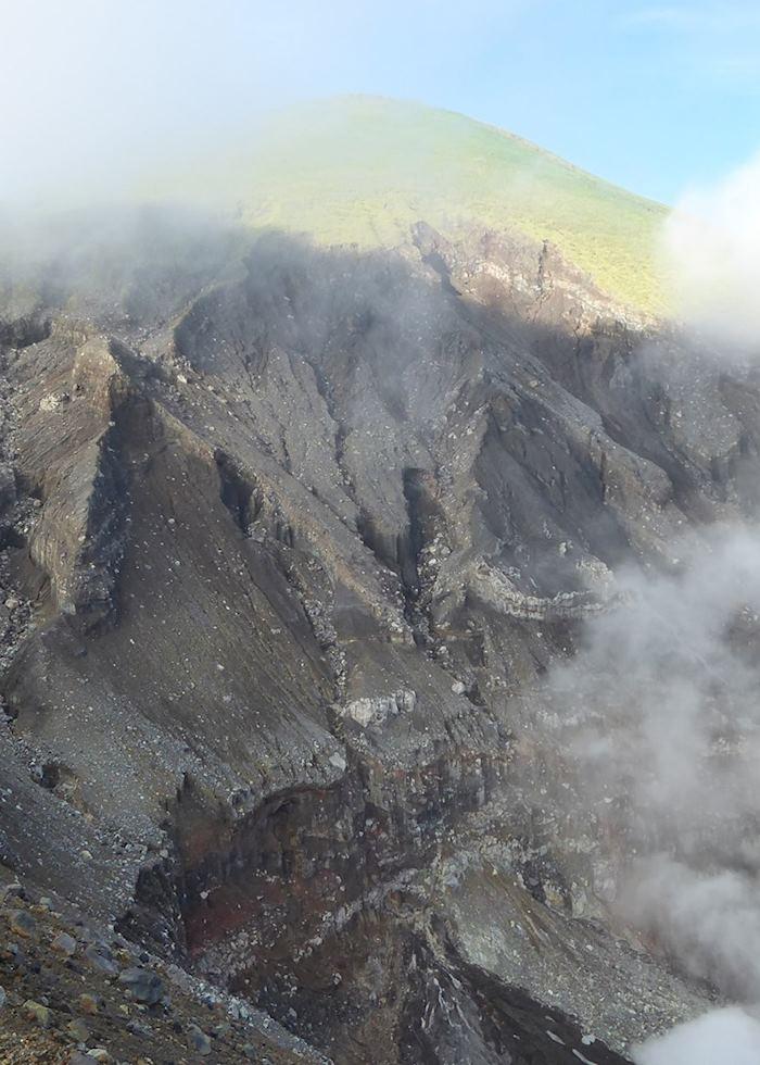 Crater on Mount Lokon Hike
