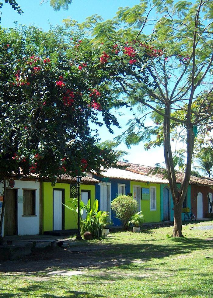 Main Square, Trancoso, Brazil